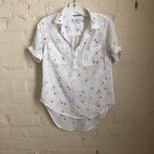 Fun and Fruity Women's Button Up